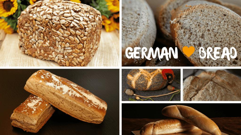German Bread Varieties