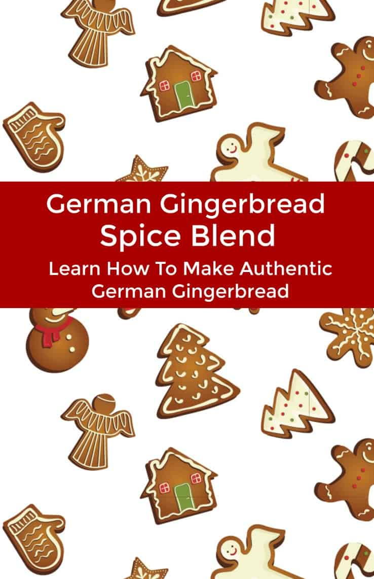 German Gingerbread Spice Blend