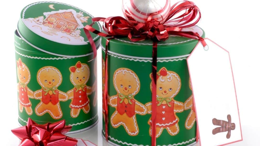 Christmas Cookies Tins