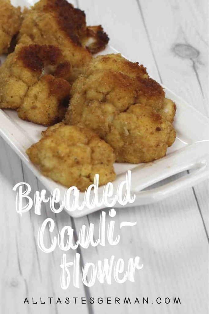 Breaded Cauliflower Pinterest