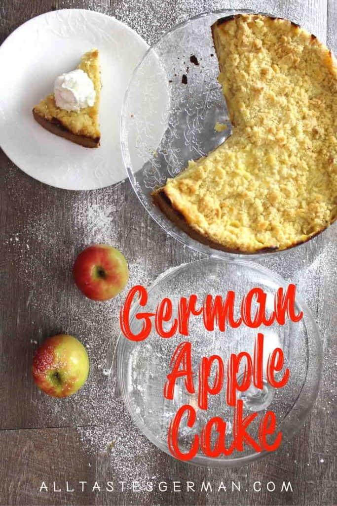 German Apple Pudding Cake