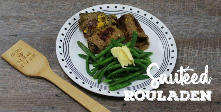 Sautéed Beef Rouladen