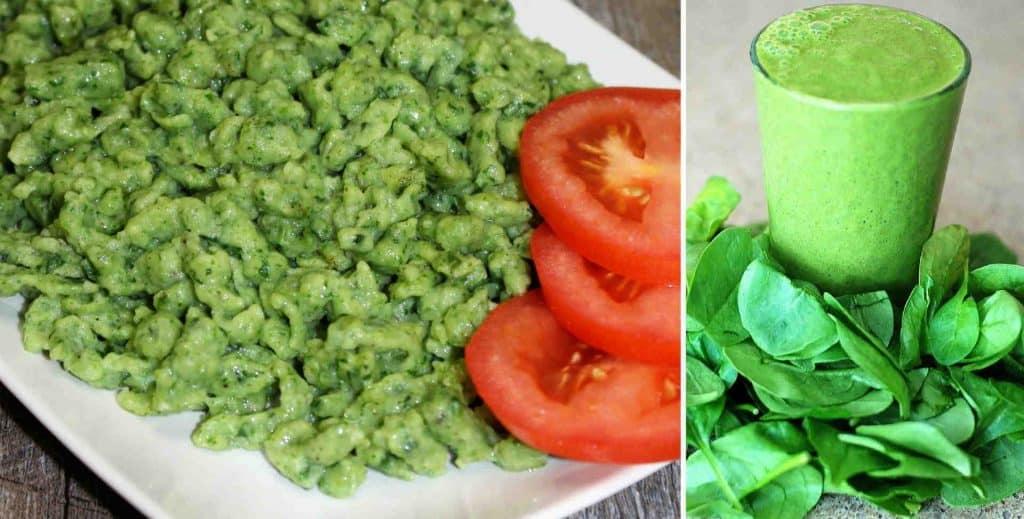 Spinach Spaetzle Recipe