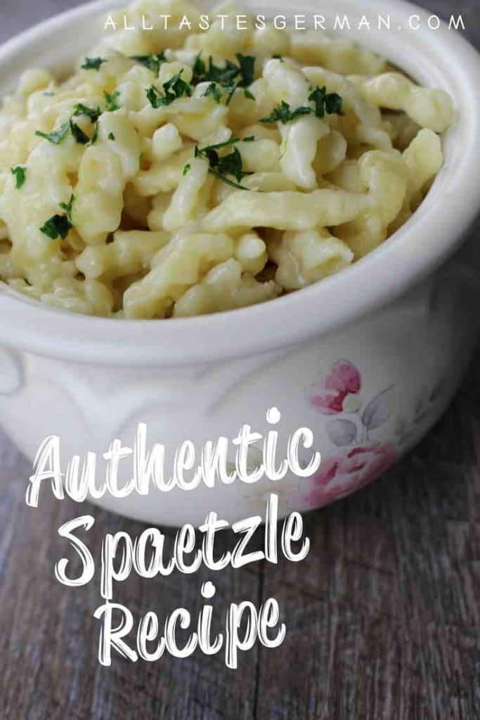 Authentic Spaetzle Recipe Pinterest