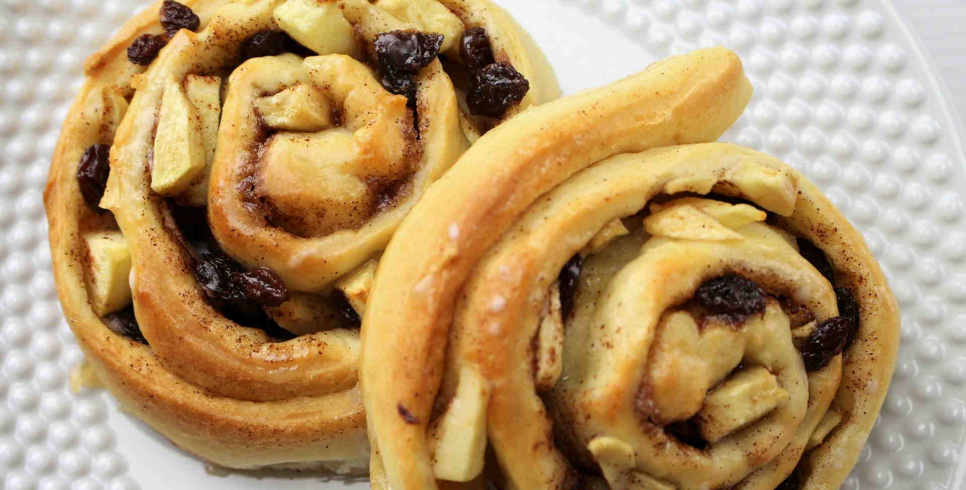 German Cinnamon Apple Pastry