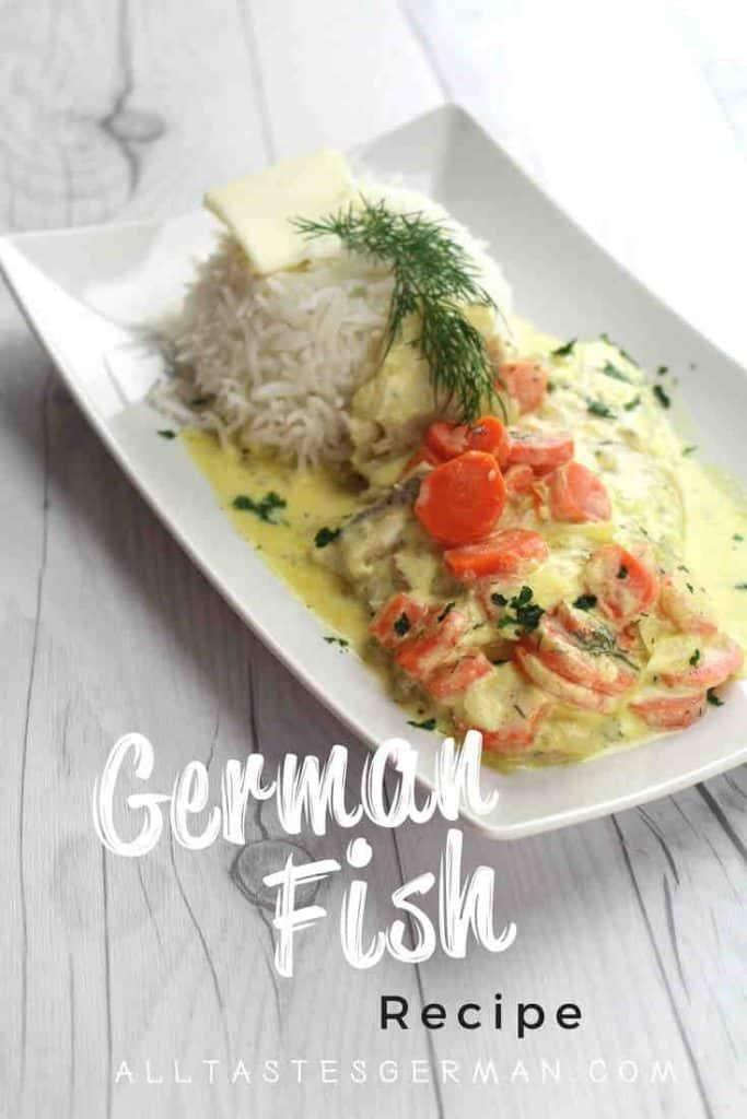 German Fish Dish Recipe