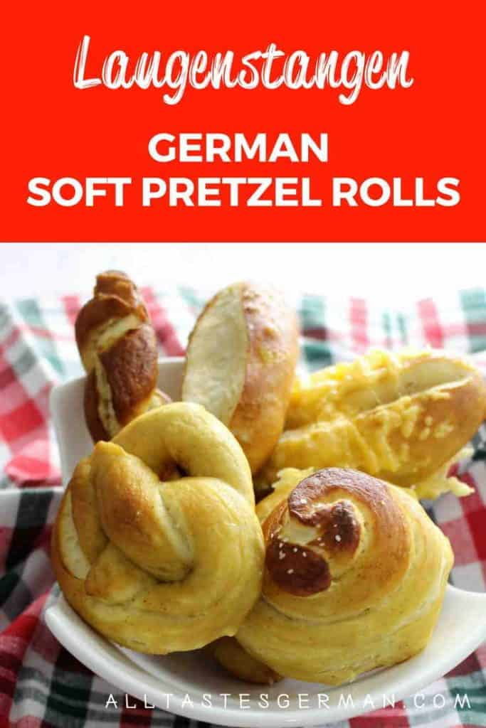 German Soft Pretzel Rolls