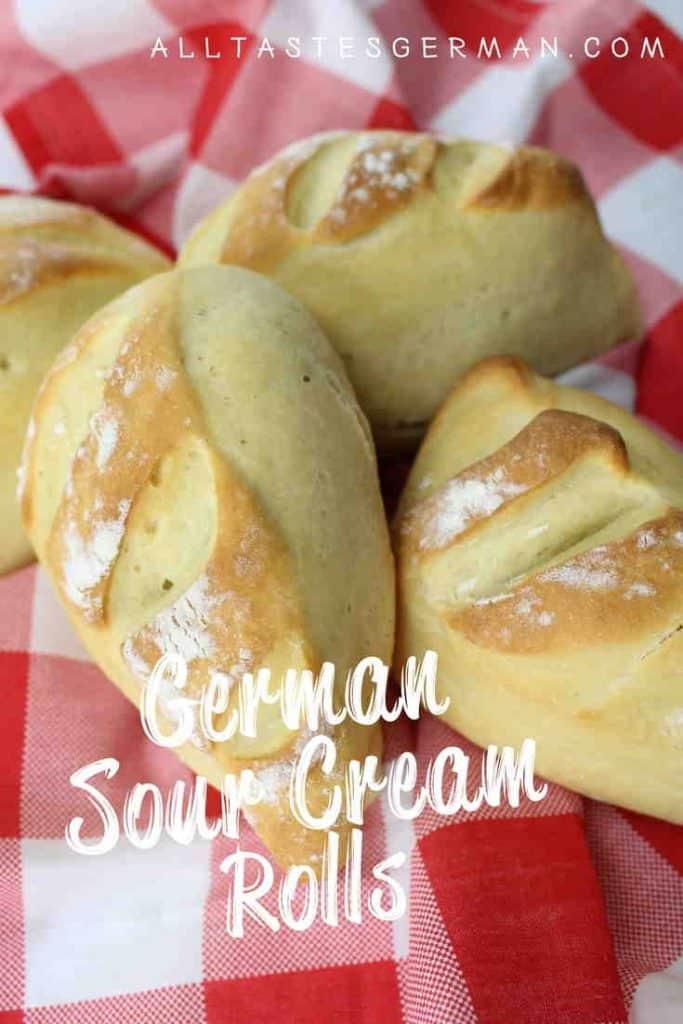 Sour Cream Rolls Recipe Pinterest