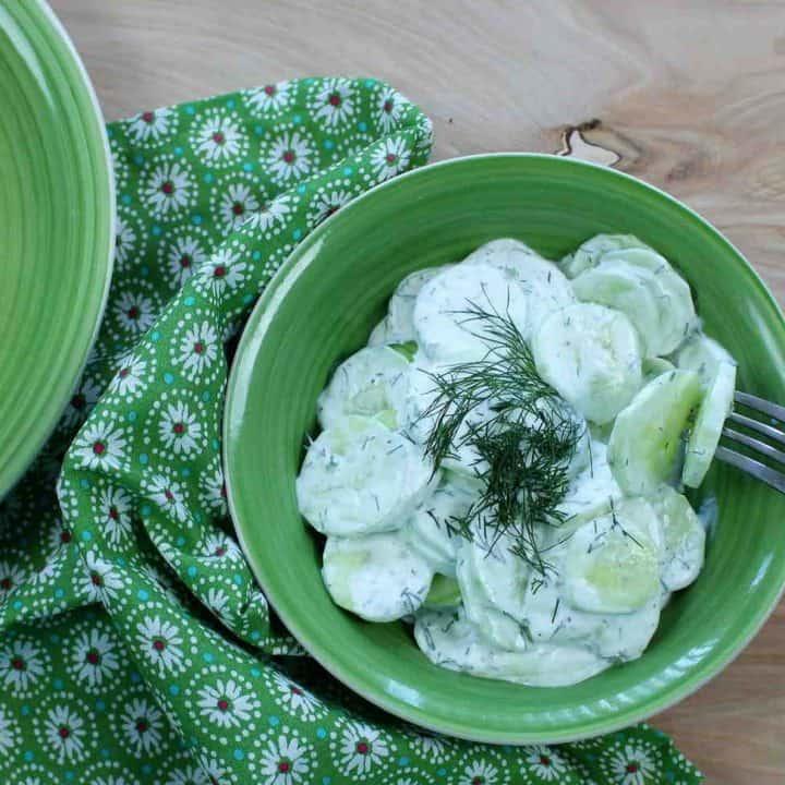 Bavarian Cucumber Salad