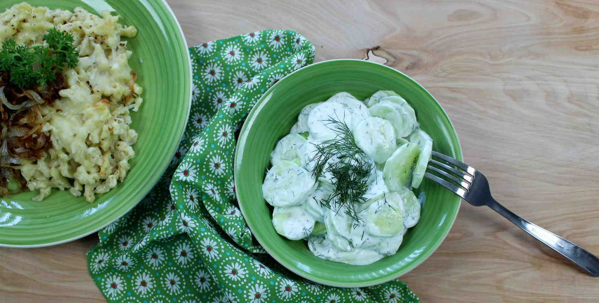 Bavarian Cucumber Salad