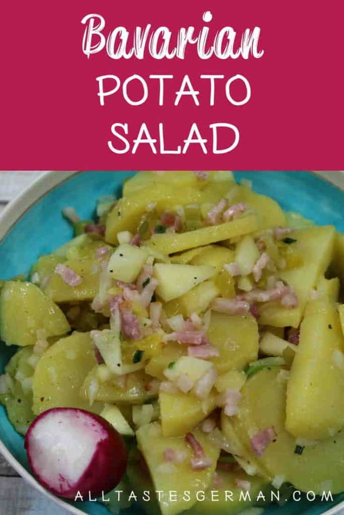 Bavarian Potato Salad Pinterest
