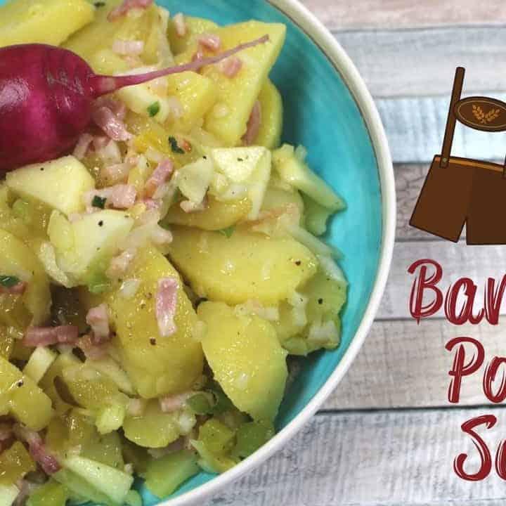 Bavarian Potato Salad Bacon Vinaigrette