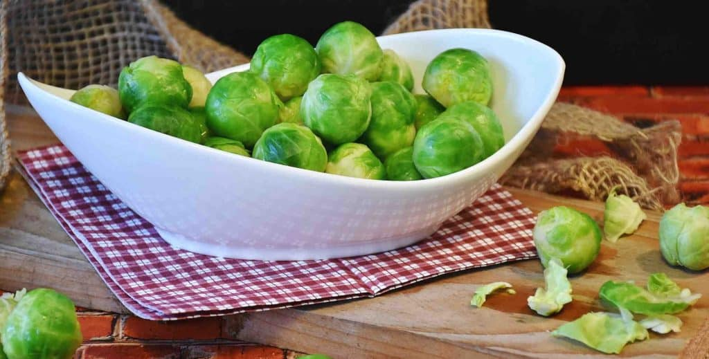 German Brussels Sprout Dish
