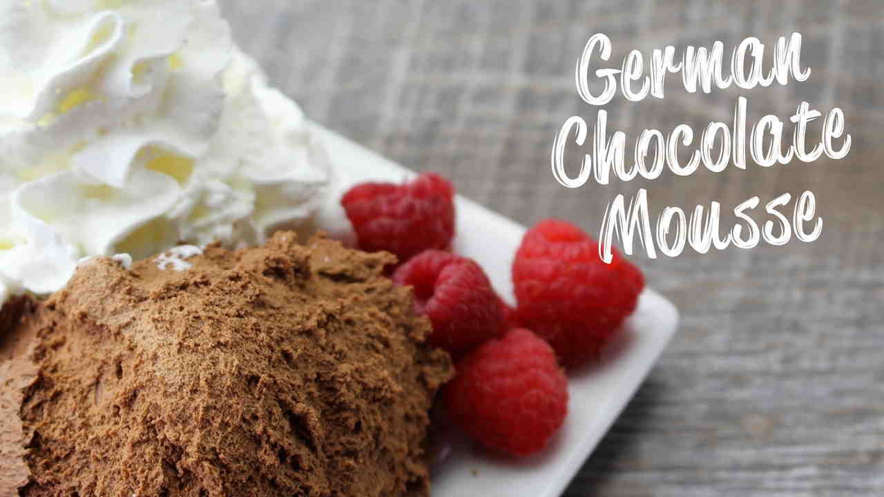 German Chocolate Mousse Recipe