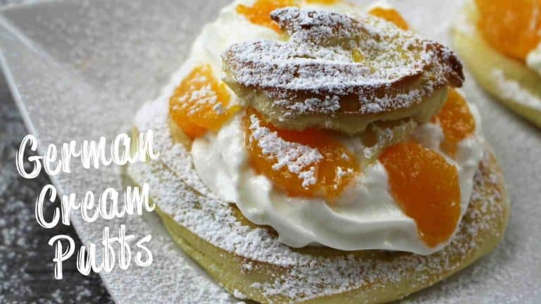 German Cream Puffs – Windbeutel