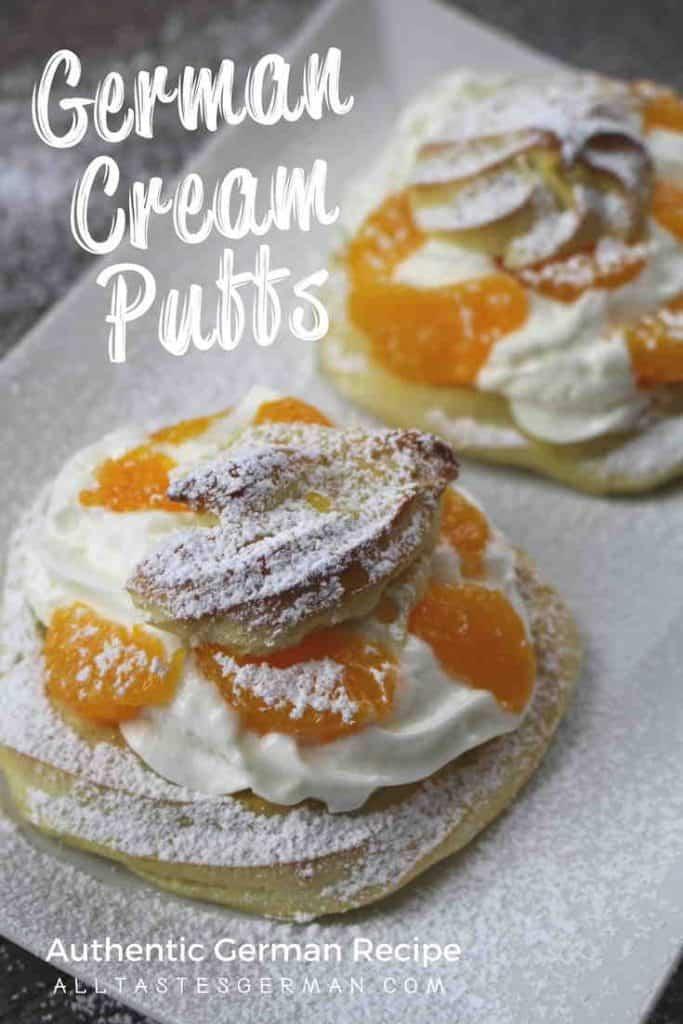 German Cream Puffs Recipe