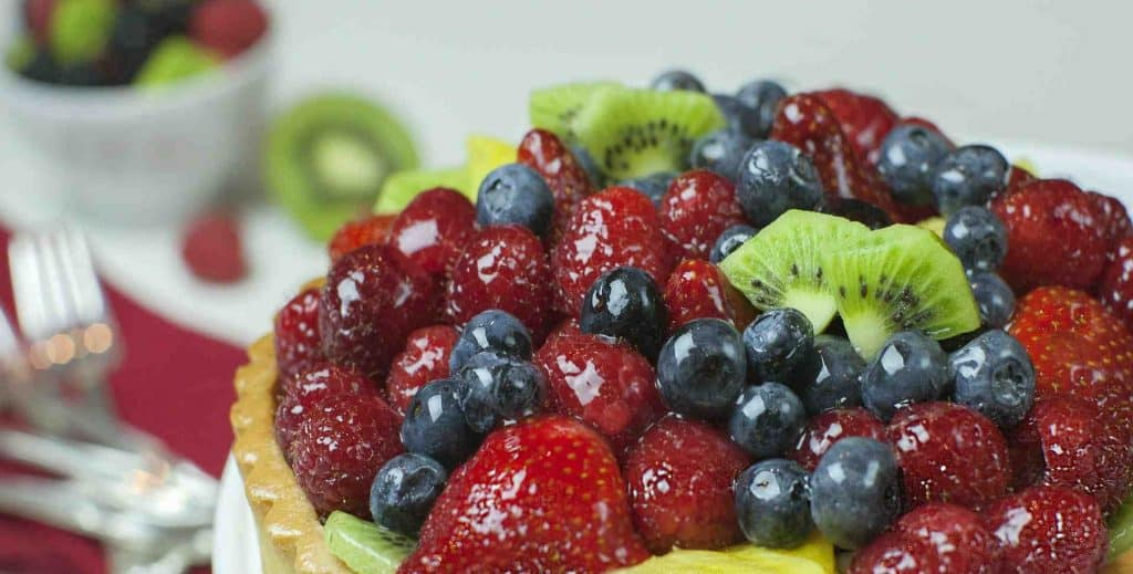 German Fruit Tarte