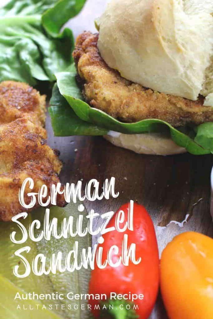 German Schnitzel Sandwich Recipe