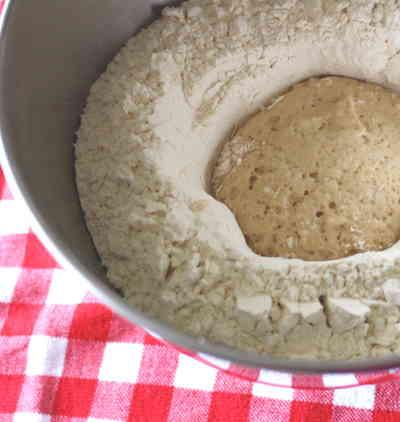 Kaiser roll dough