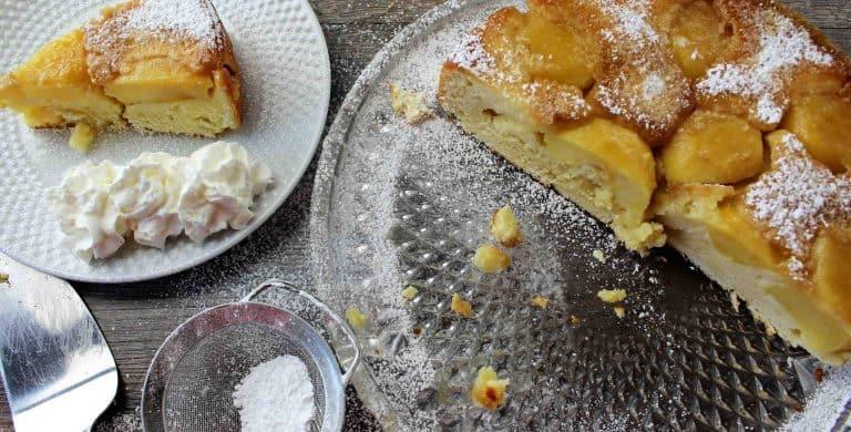 German Apple Cake With Sour Cream