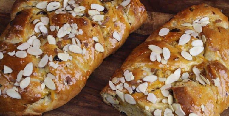 Sweet Braided German Easter Bread