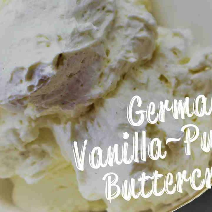 German Buttercream with Vanilla Pudding