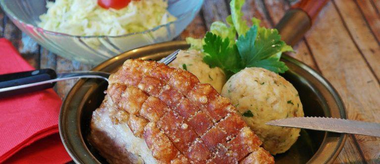 German Pork Roast with Crackling