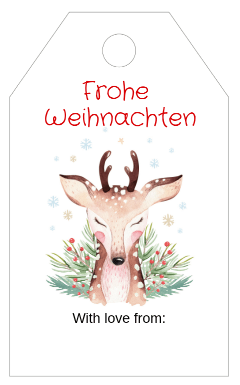 Forest Animals Gift Tag