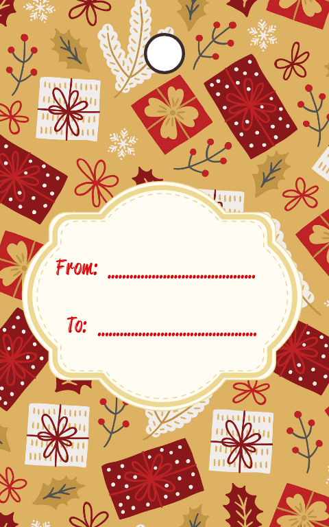 Neutral Gift Tags (3)