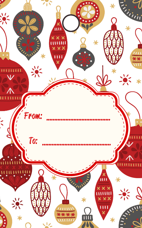 Neutral Gift Tags (4)