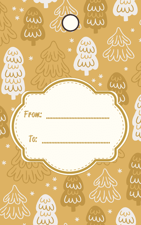Neutral Gift Tags (5)