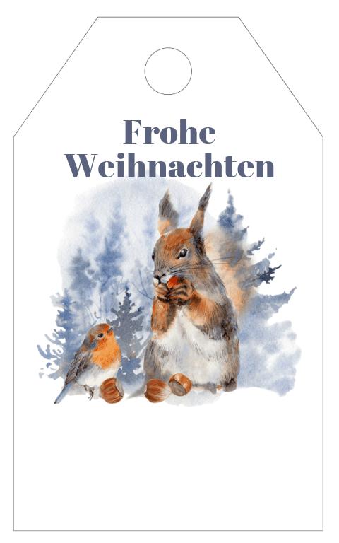 Winter Wonderland Gift Tag (2)