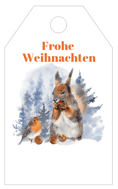Winter Wonderland Gift Tag (3)