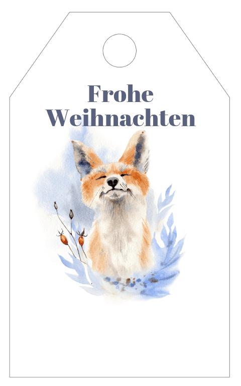 Winter Wonderland Gift Tag (5)