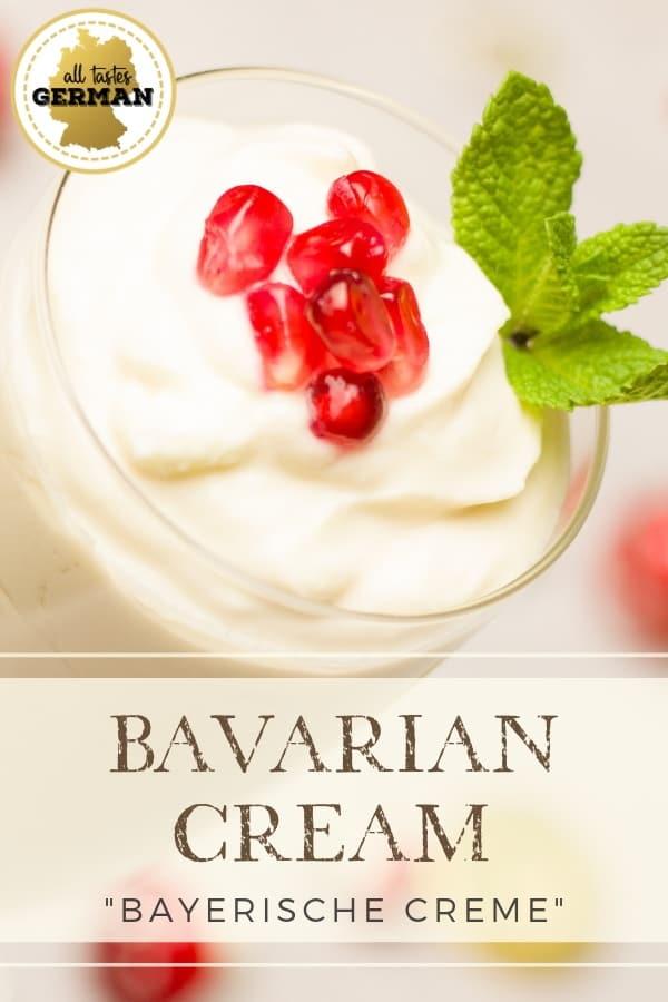 bavarian cream pin