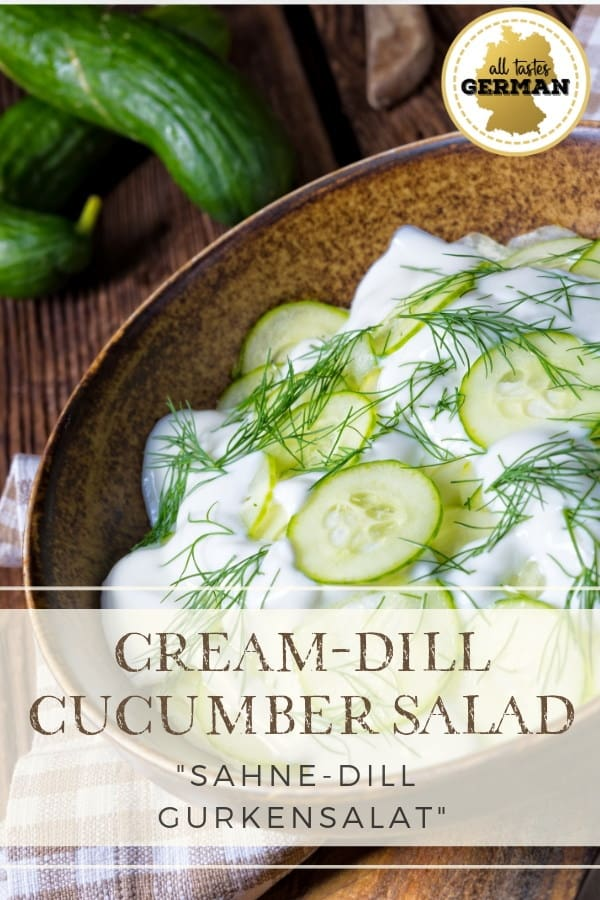 bavarian cucumber salad pin
