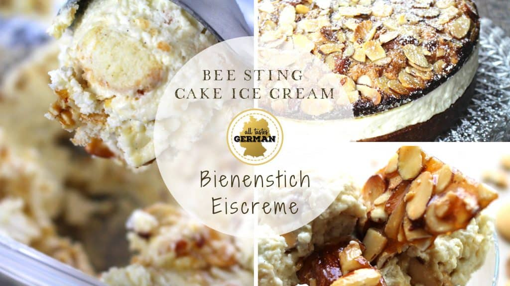bee sting cake ice cream