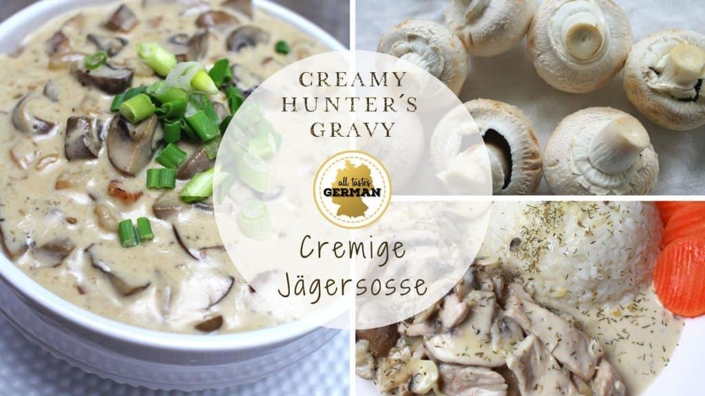 creamy jager gravy