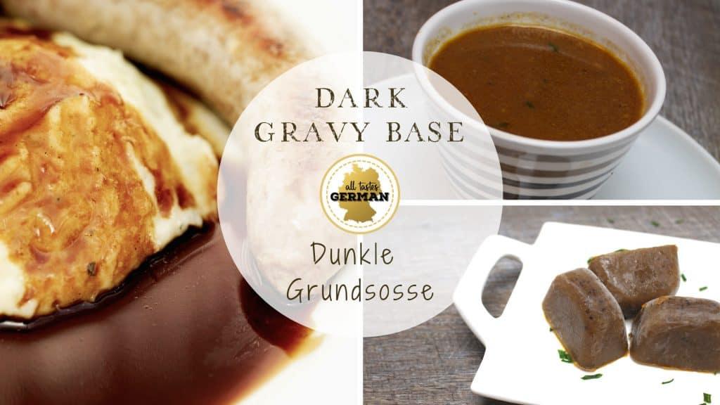 dark gravy base
