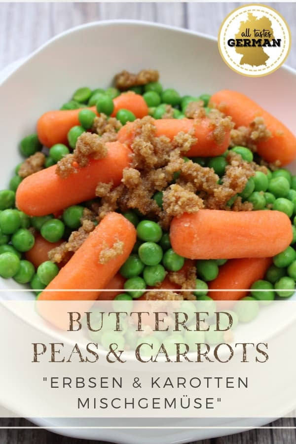 pea carrot side pin