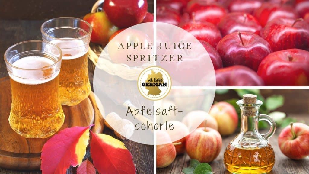 Apple Juice Spritzer