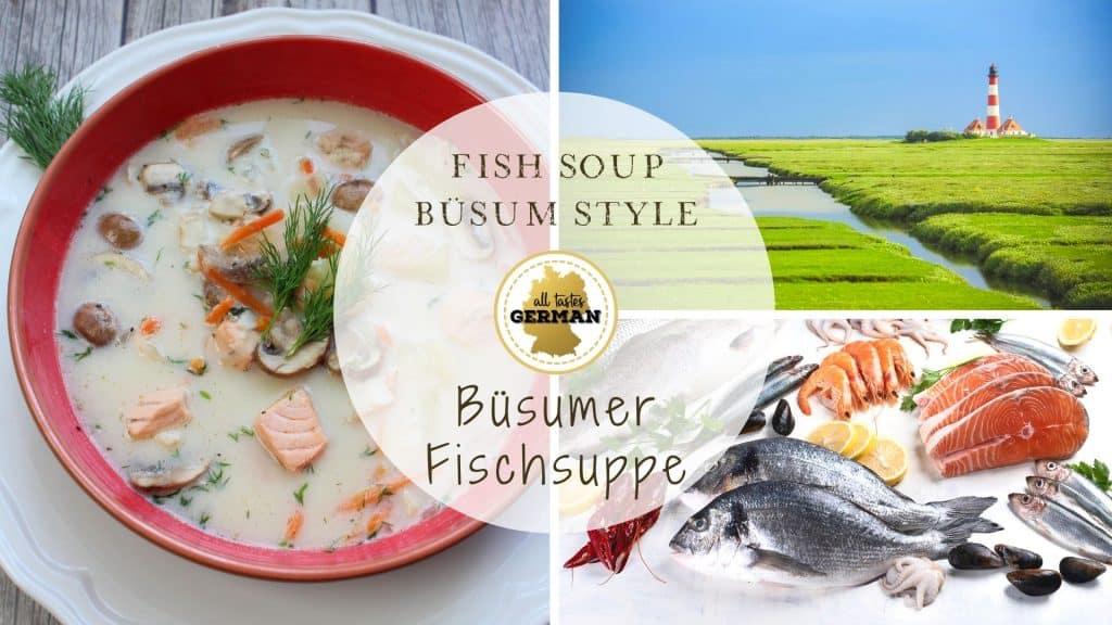 Büsum Fish Soup Collage