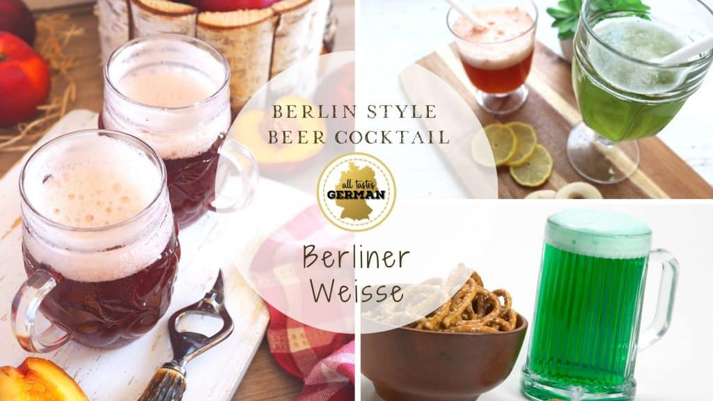 Berlin Style Beer Cocktail