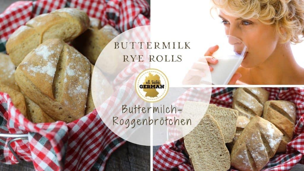 Buttermilk Rye-Rolls
