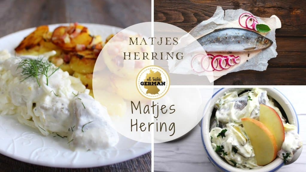 Creamy Matjes Herring Collage