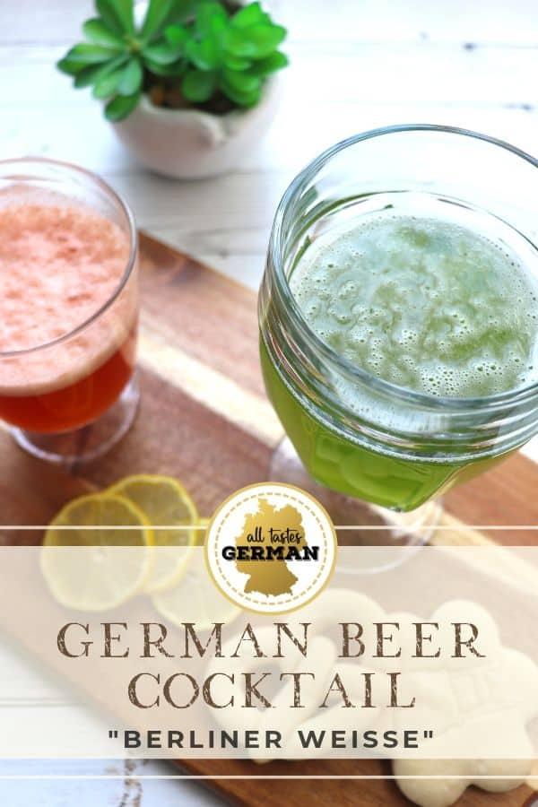 German Beer Cocktail