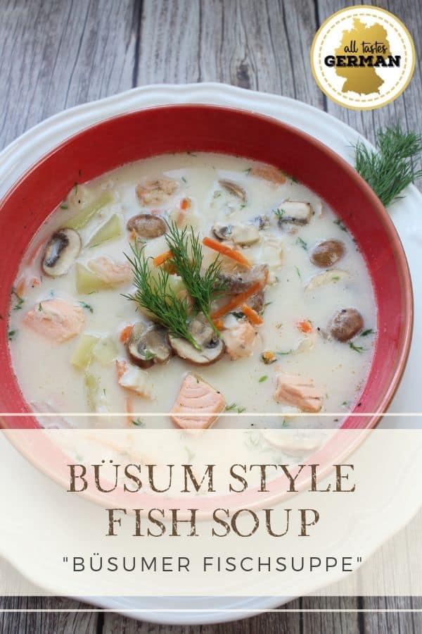 German Fish Soup Büsum Style