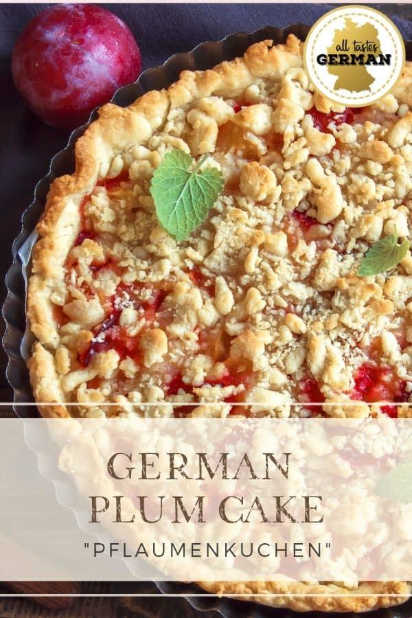 German Plum Cake