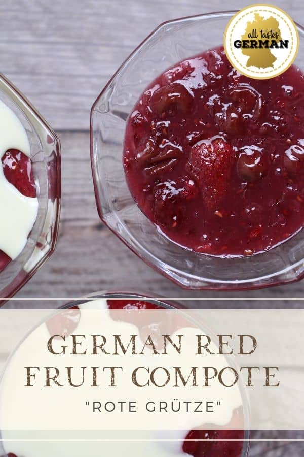 German Red Fruit Compote