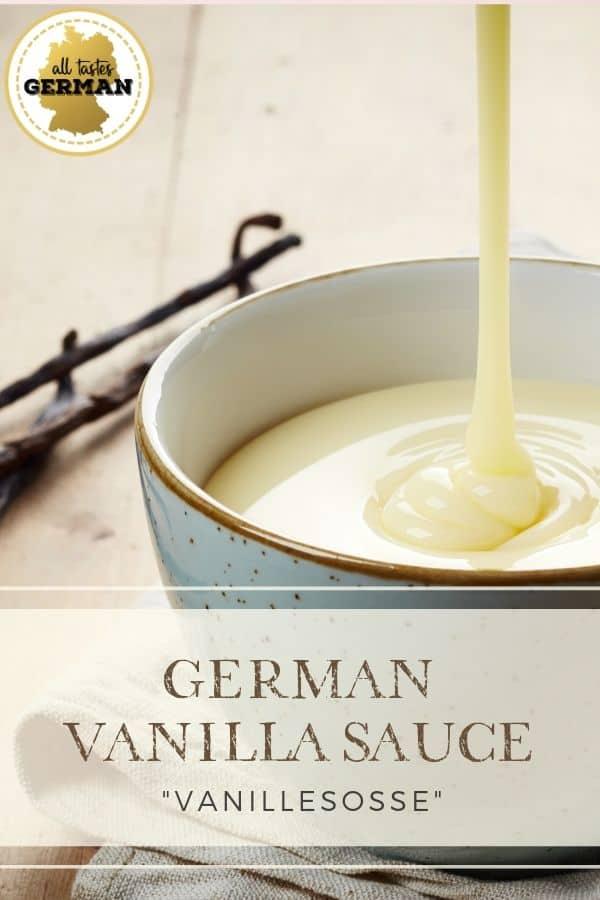 German Vanilla Sauce